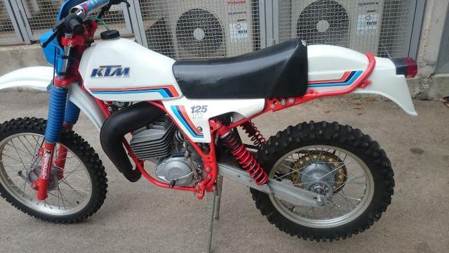 KTM GS 125 1980
