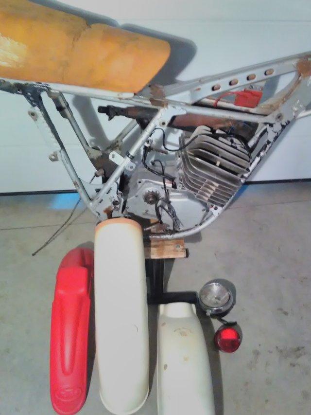 KTM GS 125 SACHS